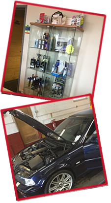 tyres, exhausts and brakes by Twyning Garage, Tewkesbury